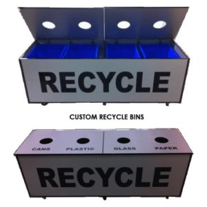 CUSTOM RECYCLE BIN